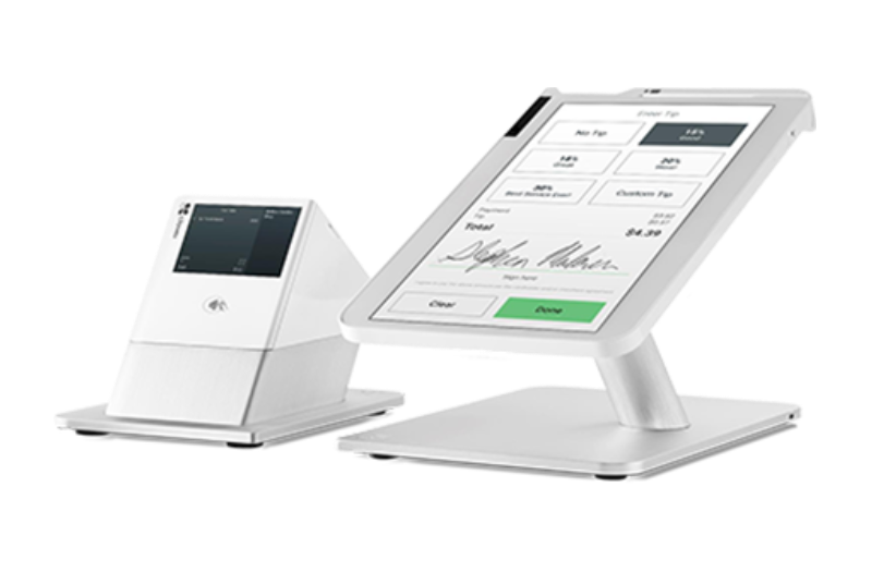 Clover Station with NFC printer with display