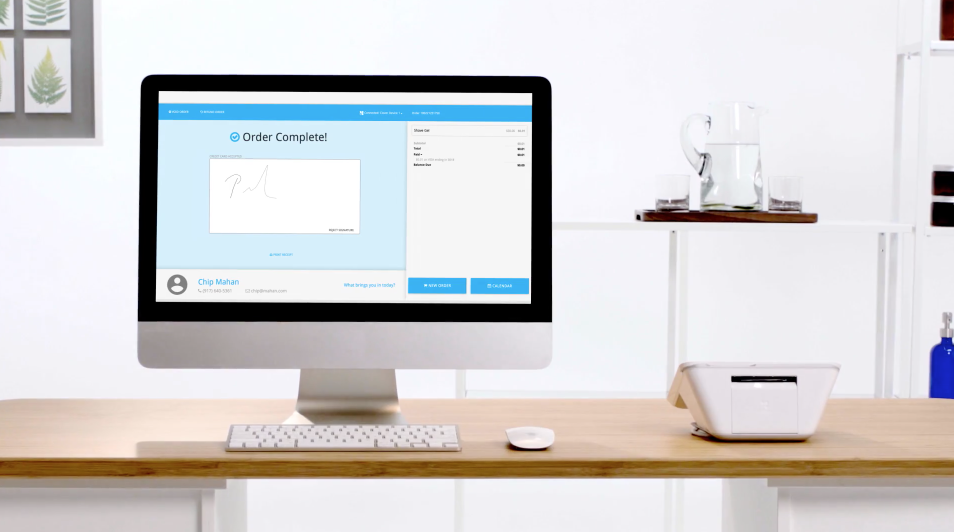 clover mini booker software